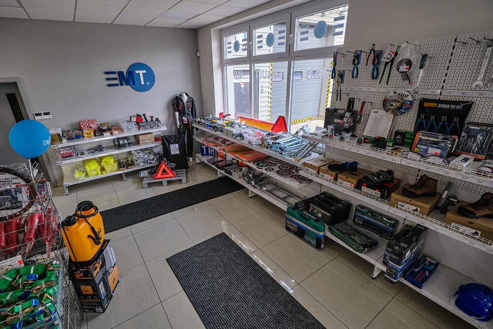 Predajňa EMT
